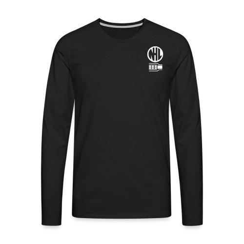 nhl1 white - Men's Premium Longsleeve Shirt