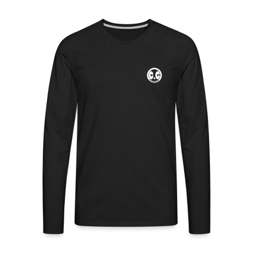cc Blanc - T-shirt manches longues Premium Homme