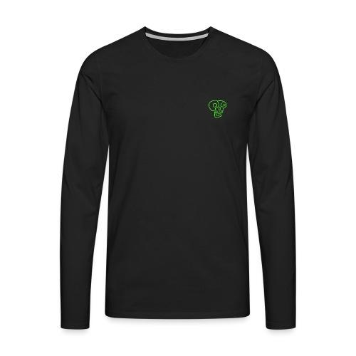 poco loco logo green - Men's Premium Longsleeve Shirt