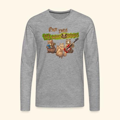 Tshirt fans - T-shirt manches longues Premium Homme