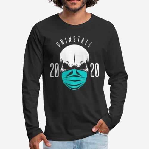 2020 deinstallieren - Männer Premium Langarmshirt