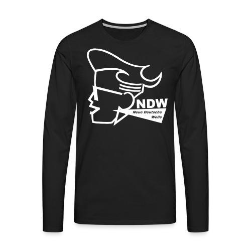 NDW Merchandising - Männer Premium Langarmshirt