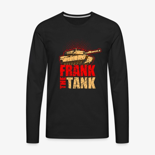 Panzer Modell, Pzkpfw Panzer Modell, Kampfpanzer - Männer Premium Langarmshirt
