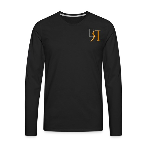 EnRakker Logo - Premium langermet T-skjorte for menn