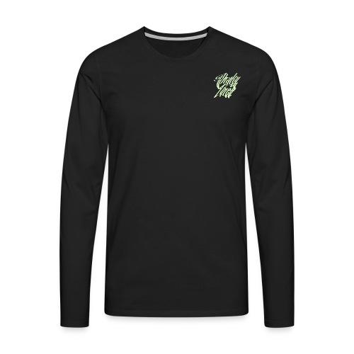Logo sage - Men's Premium Longsleeve Shirt
