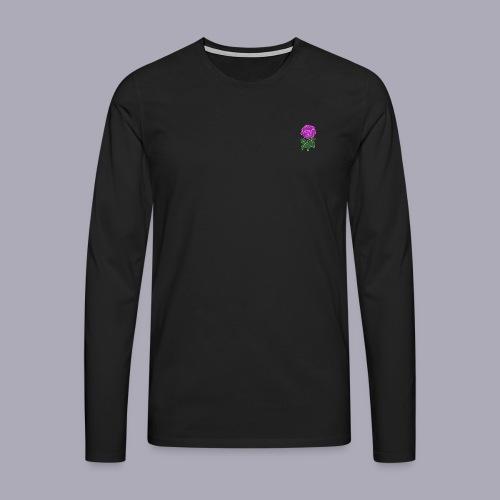 Landryn Design - Pink rose - Men's Premium Longsleeve Shirt