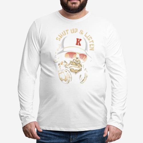 Gorillamusik - Männer Premium Langarmshirt
