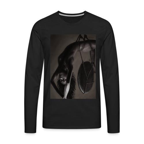 Heavy - Männer Premium Langarmshirt