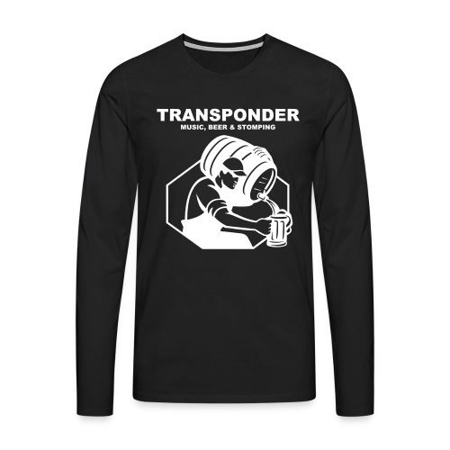 Transponder Music Beer Stomping - Männer Premium Langarmshirt