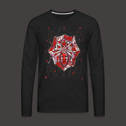 Spider Dentelle Red - T-shirt manches longues Premium Homme