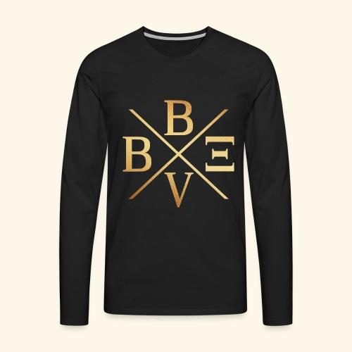 BVBE Gold X Factor - Men's Premium Longsleeve Shirt