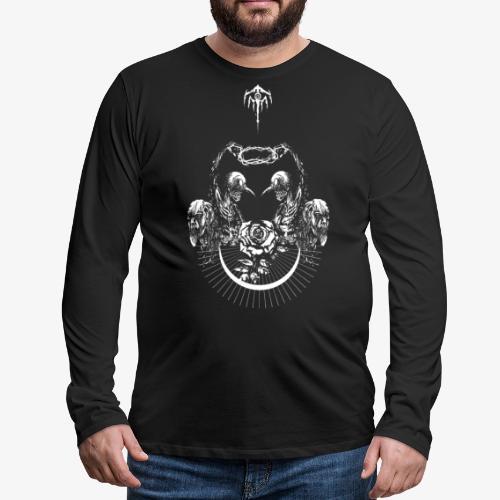 Nocturn design 2 - T-shirt manches longues Premium Homme
