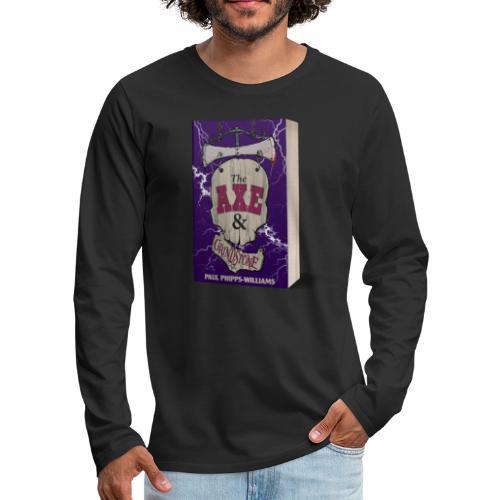 The Axe & Grindstone Cover - Men's Premium Longsleeve Shirt