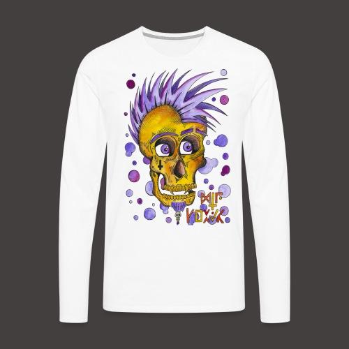 Autoportrait - T-shirt manches longues Premium Homme