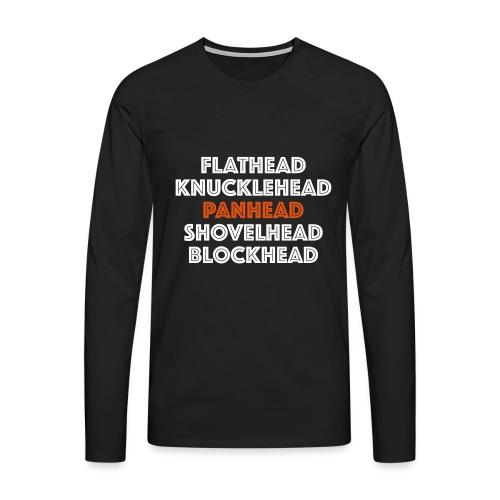 Panhead 2C - Mannen Premium shirt met lange mouwen