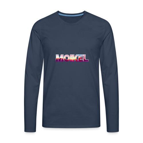 Moikel Rising Sun - Herre premium T-shirt med lange ærmer