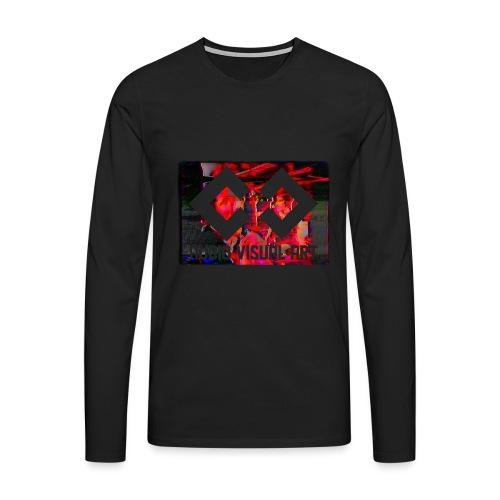 T-SHIRT glitch - Maglietta Premium a manica lunga da uomo