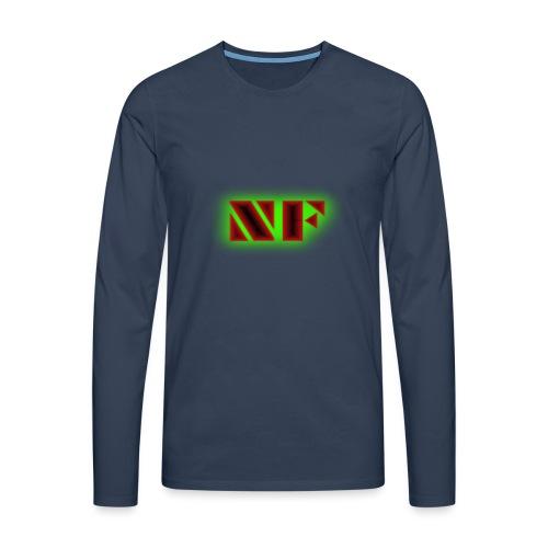 My Logo - Premium langermet T-skjorte for menn