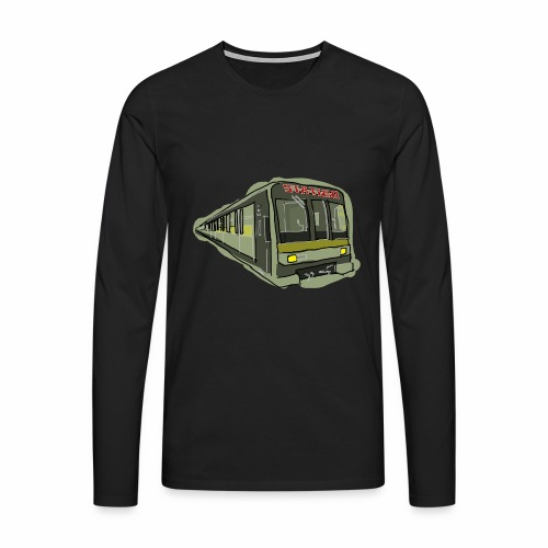 Urban convoy - Maglietta Premium a manica lunga da uomo