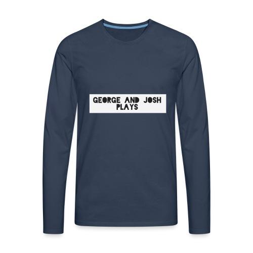 George-and-Josh-Plays-Merch - Men's Premium Longsleeve Shirt
