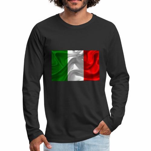 Italien - Männer Premium Langarmshirt