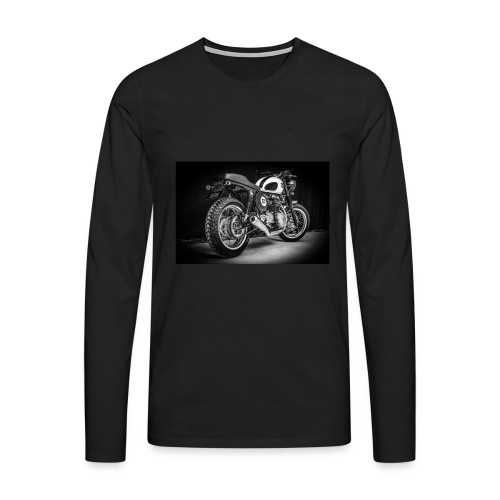 Monia's Thruxton 'Performance Scrambler' - Men's Premium Longsleeve Shirt