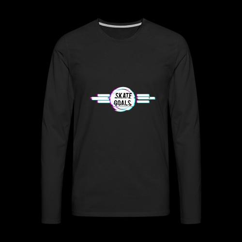 GLITCH SERIES - Mannen Premium shirt met lange mouwen