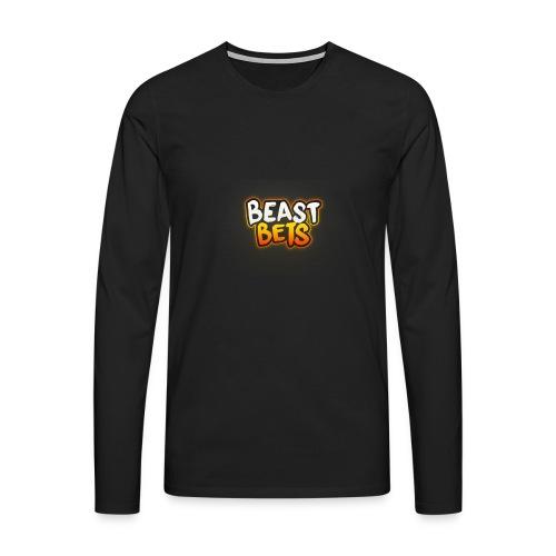 BeastBets - Herre premium T-shirt med lange ærmer