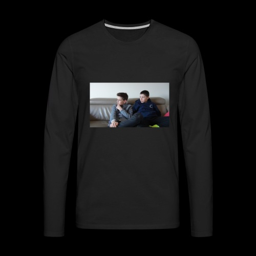 t-shirt de feyskes hd - T-shirt manches longues Premium Homme