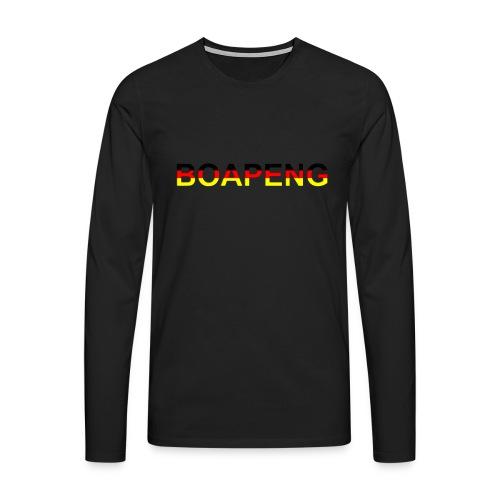 Boapeng - Männer Premium Langarmshirt