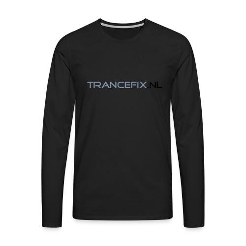 trancefix text - Men's Premium Longsleeve Shirt