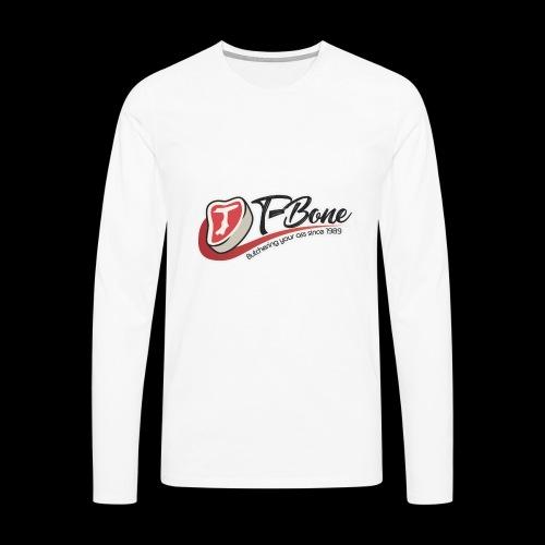 ulfTBone - Mannen Premium shirt met lange mouwen