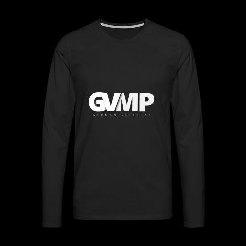 GVMP Schriftzug - Männer Premium Langarmshirt