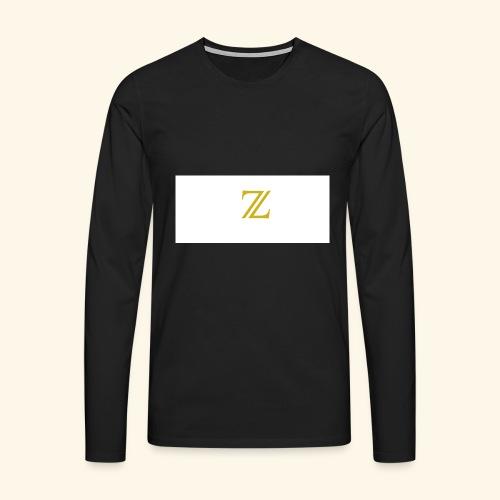 zaffer - Maglietta Premium a manica lunga da uomo