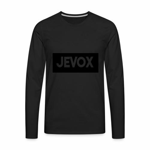 Jevox Black - Mannen Premium shirt met lange mouwen