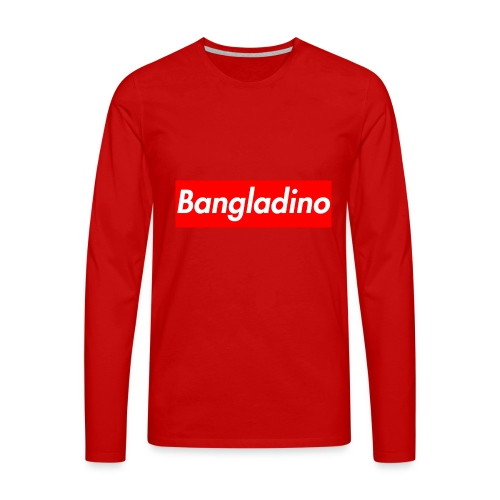 Bangladino - Maglietta Premium a manica lunga da uomo