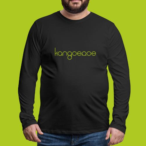 Green Kangoeroe design - T-shirt manches longues Premium Homme