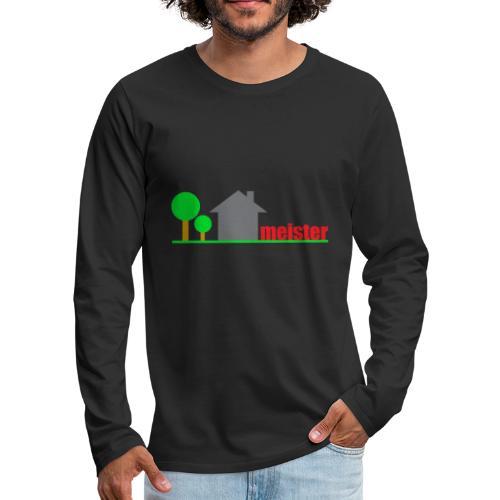 Hausmeister - Männer Premium Langarmshirt