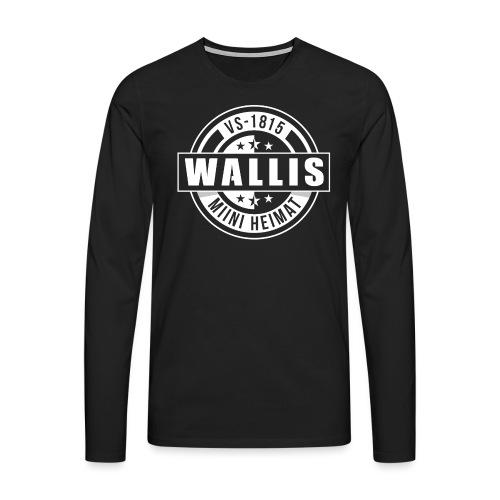 WALLIS - MIINI HEIMAT - Männer Premium Langarmshirt