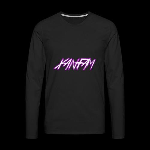XANFAM (FREE LOGO) - Männer Premium Langarmshirt