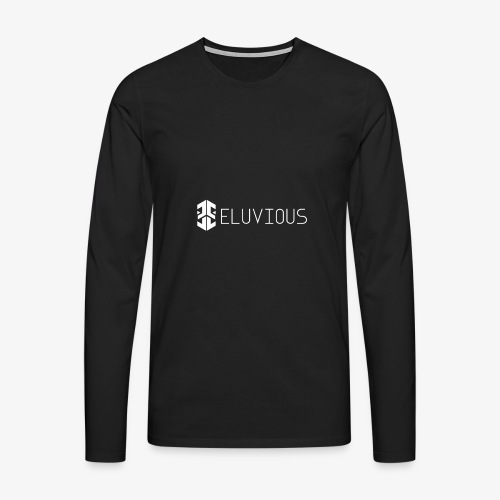 Eluvious | With Text - Men's Premium Longsleeve Shirt