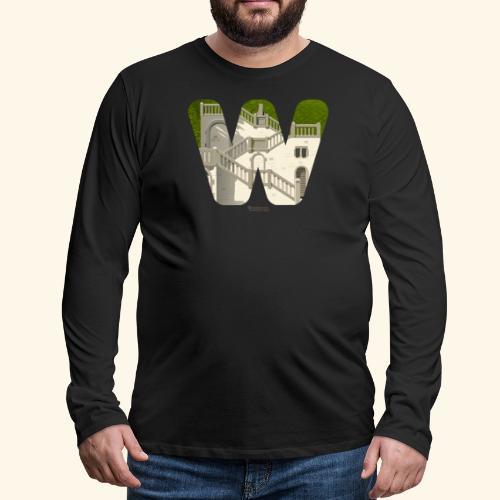 Vogelsauer Treppe - Männer Premium Langarmshirt