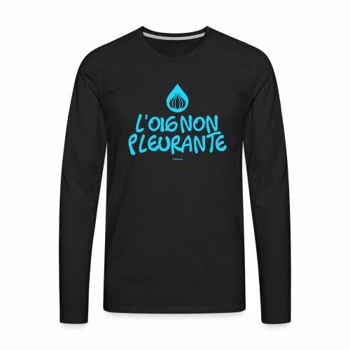 Huilende ui - Mannen Premium shirt met lange mouwen