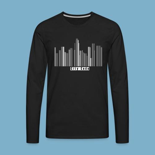 City Code - Deine Stadt - Männer Premium Langarmshirt