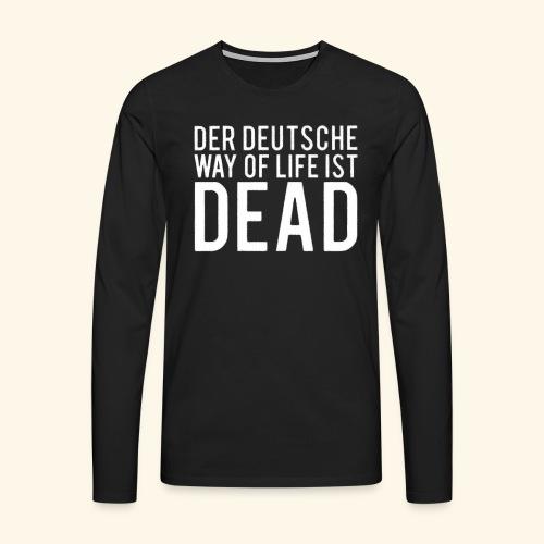 DEUTSCH - Männer Premium Langarmshirt