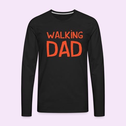Vierdaagse Nijmegen - Walking Dad RED - Mannen Premium shirt met lange mouwen