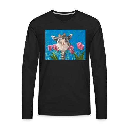 Rosa von der Bloom - Männer Premium Langarmshirt