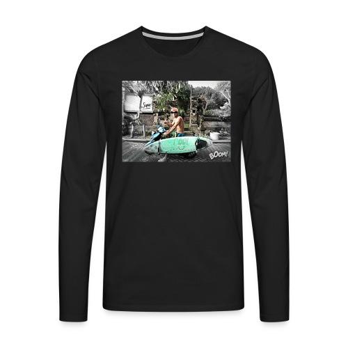 bali - Camiseta de manga larga premium hombre