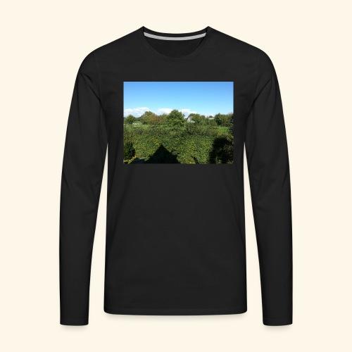 Jolie temps ensoleillé - T-shirt manches longues Premium Homme