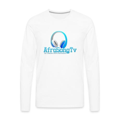 logo - Camiseta de manga larga premium hombre